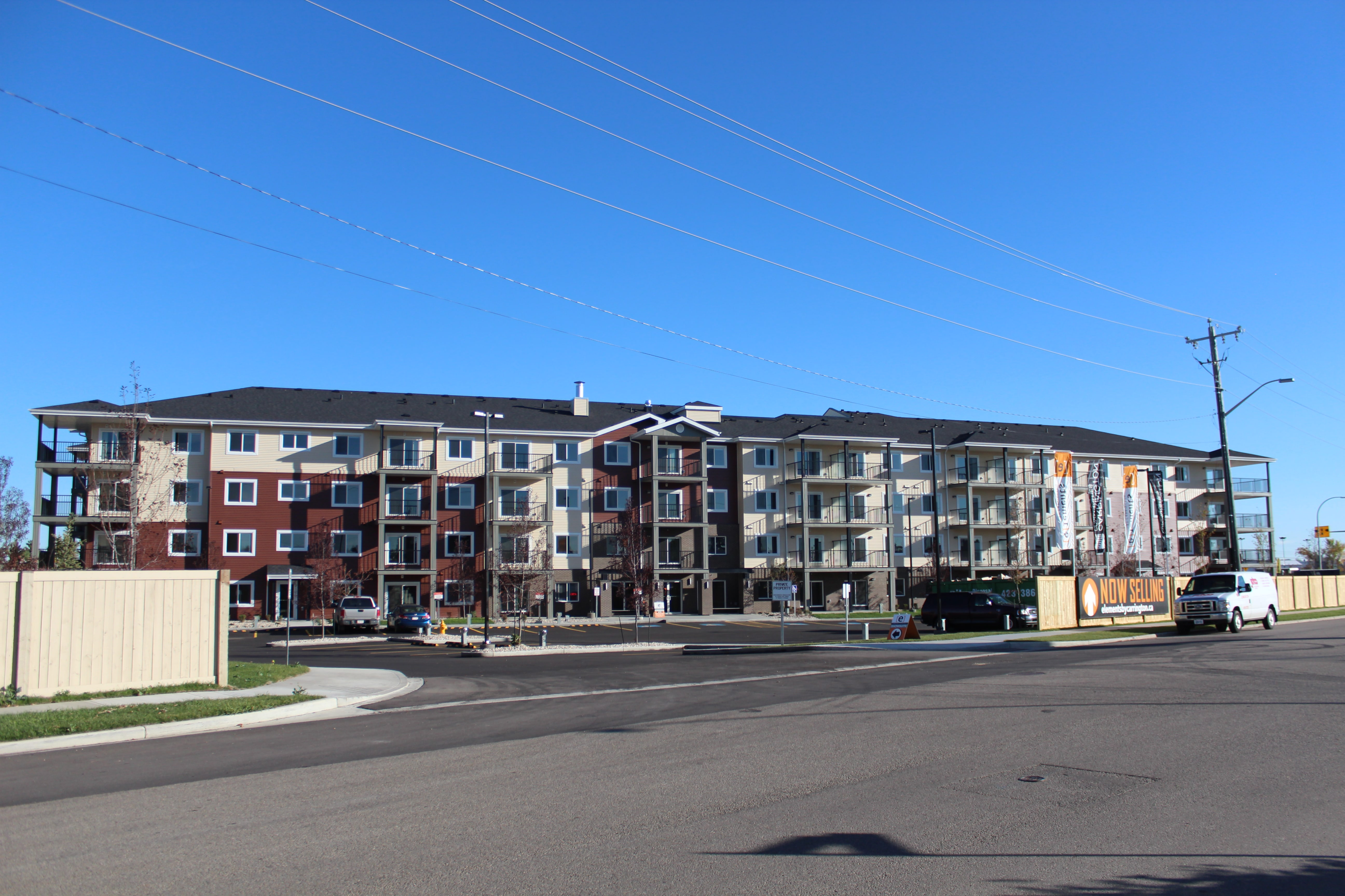 Elements at Urban Village (71 units) Completed September 2017