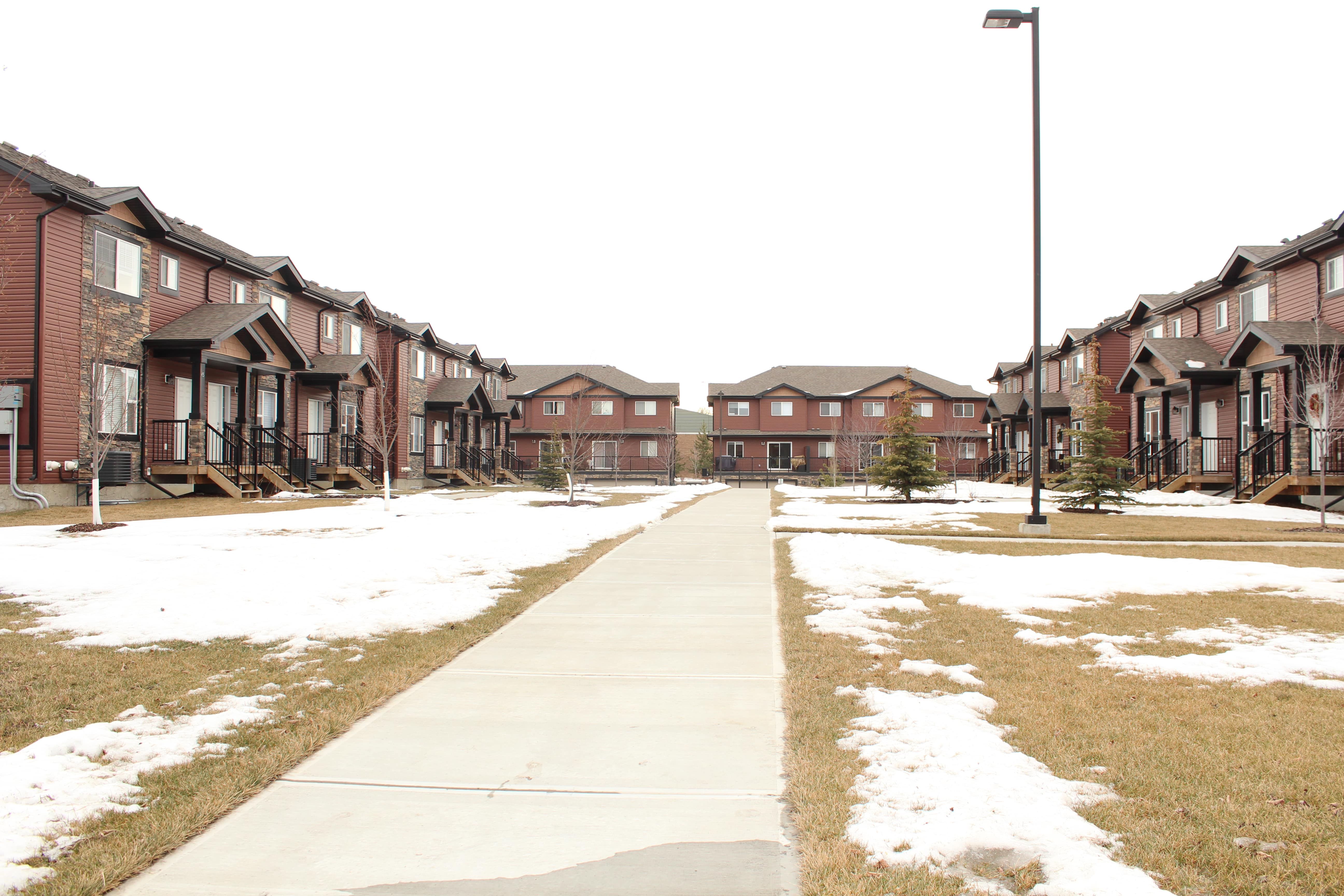 Princeton Court Townhomes (56 units) Completed March 2015