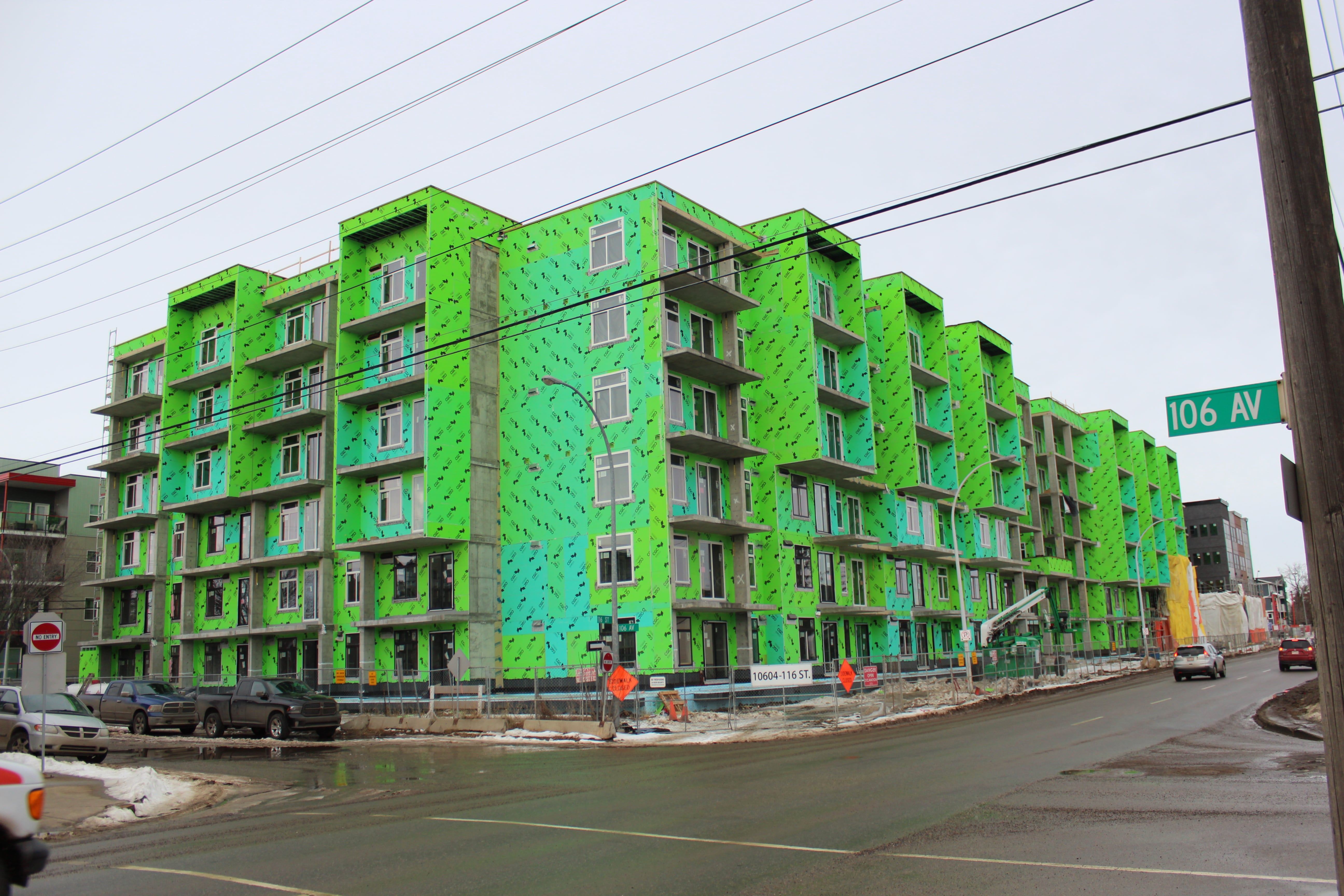 Vibe Condominiums (182 units) Completed June 2017